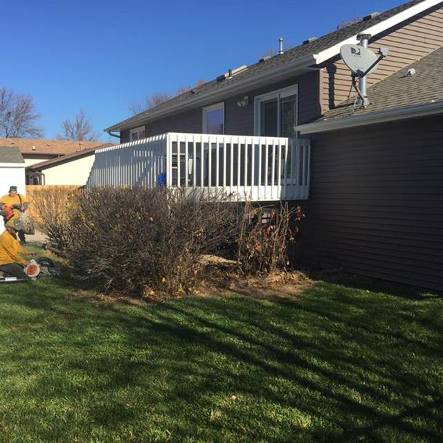 Grounds Guys working