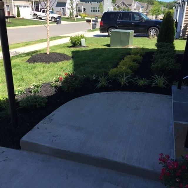 Planter and walkway