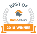 Home Advisor Best of 2018 Winner