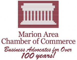 Marion Area Chamber of Commerce logo